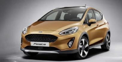 Ford Fiesta VIII Active 1.0 EcoBoost 100KM 74kW od 2018