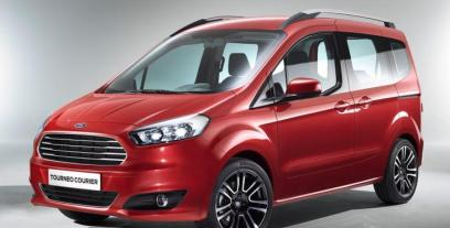 Ford Tourneo Courier Mikrovan Facelifting 1.5 Duratorq TDCi 100KM 74kW od 2018