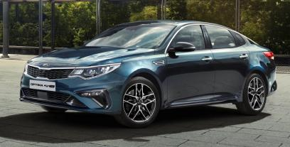 Kia Optima II Sedan Facelifting