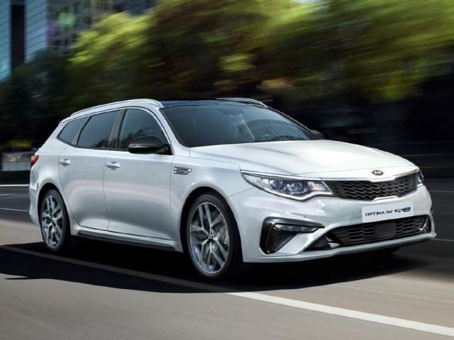Kia Optima II Kombi Facelifting