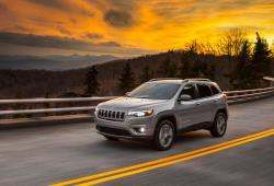 Jeep Cherokee V Terenowy Facelifting