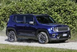 Jeep Renegade SUV Facelifting -
