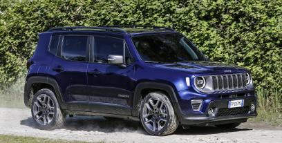 Jeep Renegade SUV Facelifting