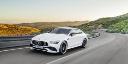 Mercedes AMG GT Coupe 4d 3.0 43 367KM 270kW od 2018
