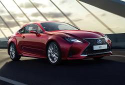Lexus RC Coupe Facelifting