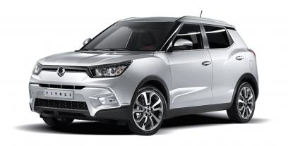 Ssangyong Tivoli Crossover 1.6 128KM 94kW 2015-2019
