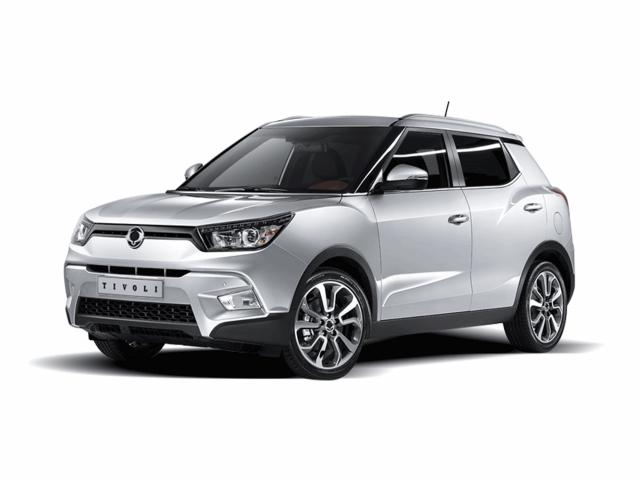 Ssangyong Tivoli Crossover 1.6 115KM 85kW 2015-2019