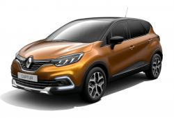 Renault Captur Crossover Facelifting