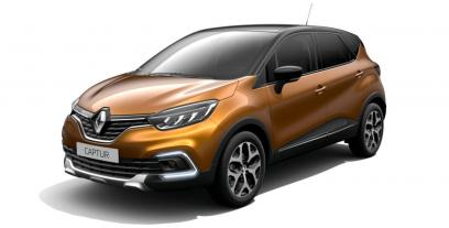 Renault Captur Crossover Facelifting 1.5 Energy dCi 90KM 66kW od 2017