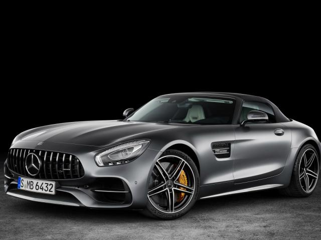 Mercedes AMG GT Coupe Roadster -