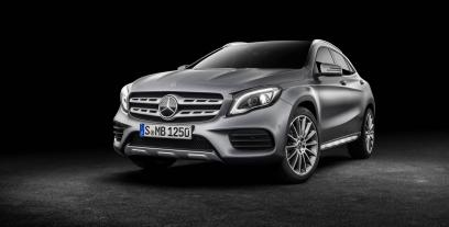 Mercedes GLA Off-Roader Facelifting