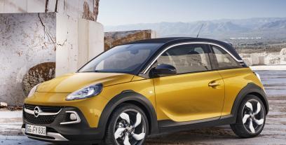 Opel Adam Hatchback Rocks 1.4 ECOTEC LPG 87KM 64kW 2015 ...