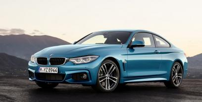 BMW Seria 4 Coupe Facelifting 420d 190KM 140kW od 2017