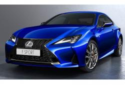 Lexus RC Coupe F Facelifting