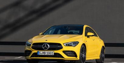 Mercedes CLA C117 Coupe Facelifting AMG 2.0 45 AMG 381KM 280kW 2016-2018