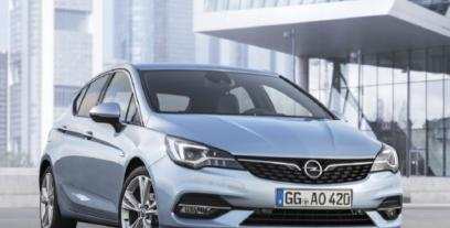 Opel Astra K Hatchback Facelifting 1.4 Turbo 145KM 107kW od 2019