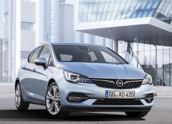 Opel Astra K Hatchback Facelifting 1.2 Turbo 110KM 81kW od 2019