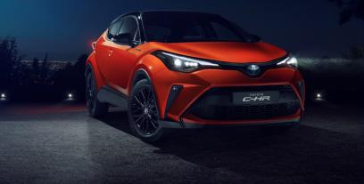 Toyota C-HR Crossover Facelifting 1.8 Hybrid 122KM 90kW od 2019