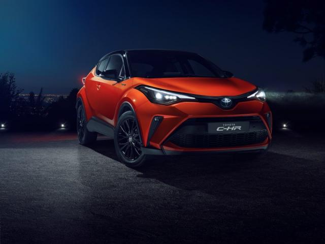 Toyota C-HR Crossover Facelifting - Opinie lpg