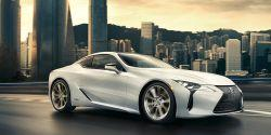 Lexus LC Coupe Facelifting
