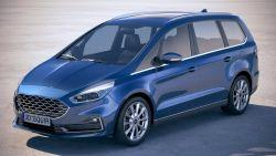 Ford Galaxy IV Van Facelifting