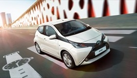 Toyota Aygo 1 x-play, LHD