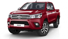 Toyota Hilux Double-Cab, 2.4 diesel 4x4, standard