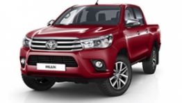 Toyota Hilux Double-Cab, 2.4 diesel 4x4, safety pa