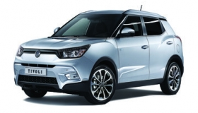 SsangYong Tivoli diesel, safety pack
