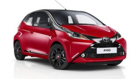 Toyota Aygo 1.0 x-play, Safety Pack