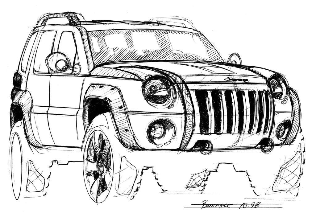 jeep liberty - galerie prasowe