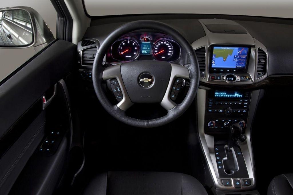 Chevrolet Captiva II Facelifting (2014) - Galerie prasowe ...
