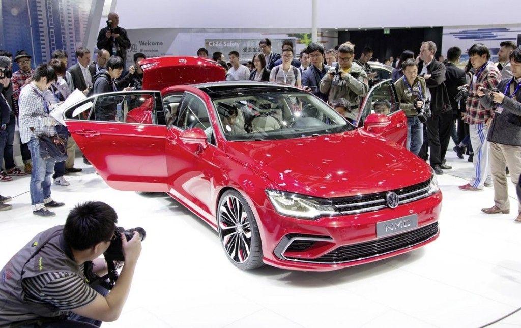 Volkswagen New Midsize Coupe Concept 2014 Galerie Prasowe