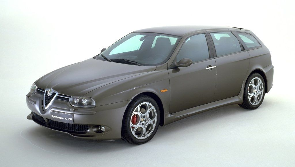 alfa romeo 156 sportwagon gta galerie prasowe galeria. Black Bedroom Furniture Sets. Home Design Ideas