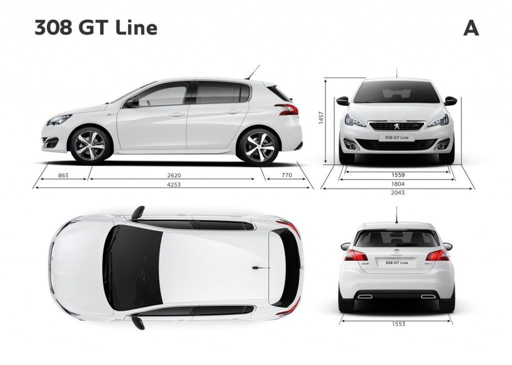 peugeot 308 ii hatchback gt line 2014 galerie prasowe galeria. Black Bedroom Furniture Sets. Home Design Ideas