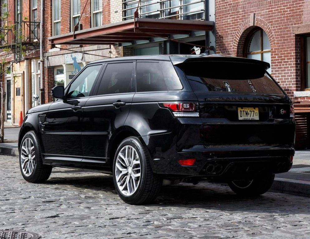 Land Rover Range Rover Sport Ii Svr Santorini Black 2016
