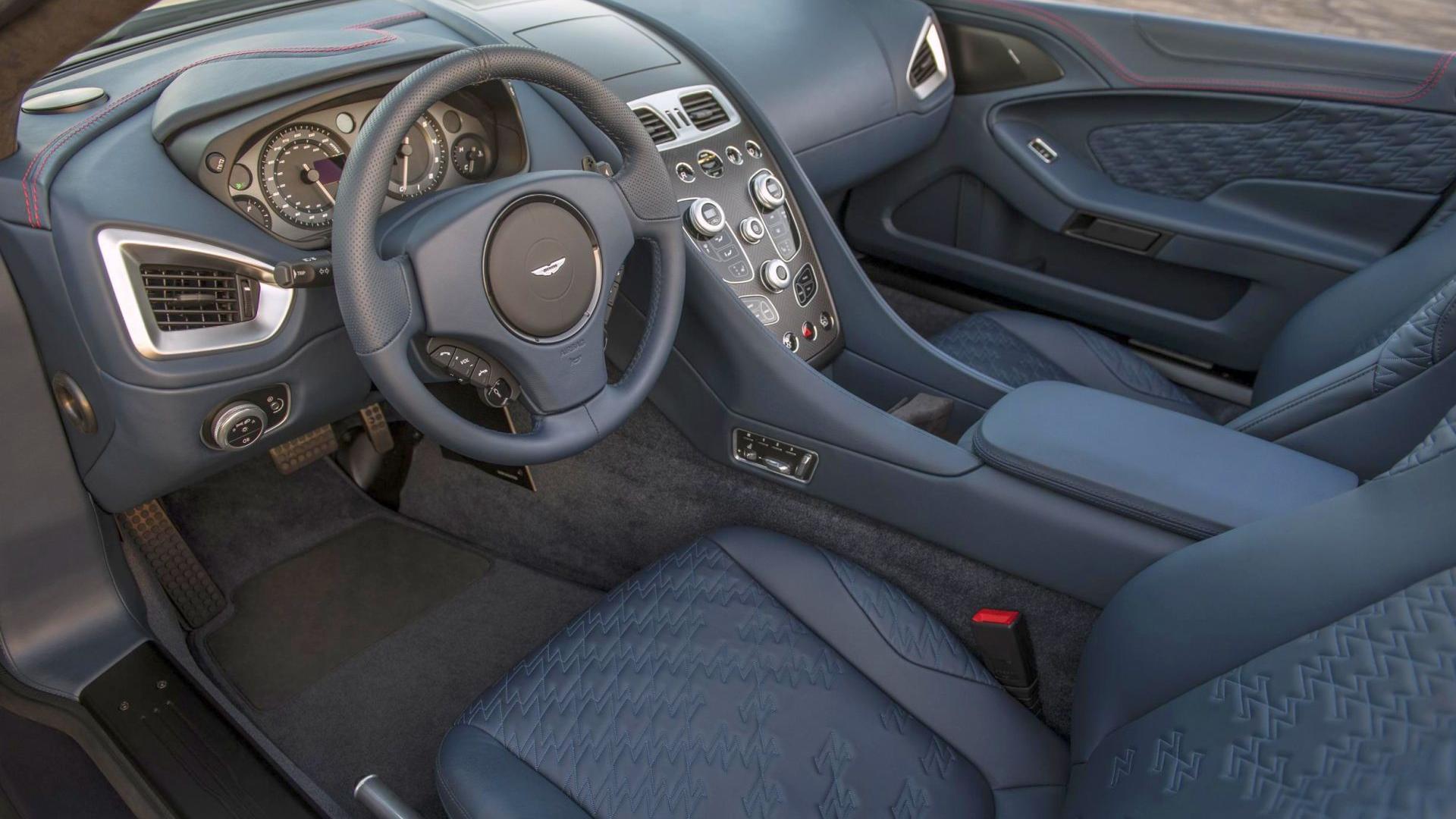 Aston Martin Vanquish Zagato Volante 2017 Auta wyjątkowe