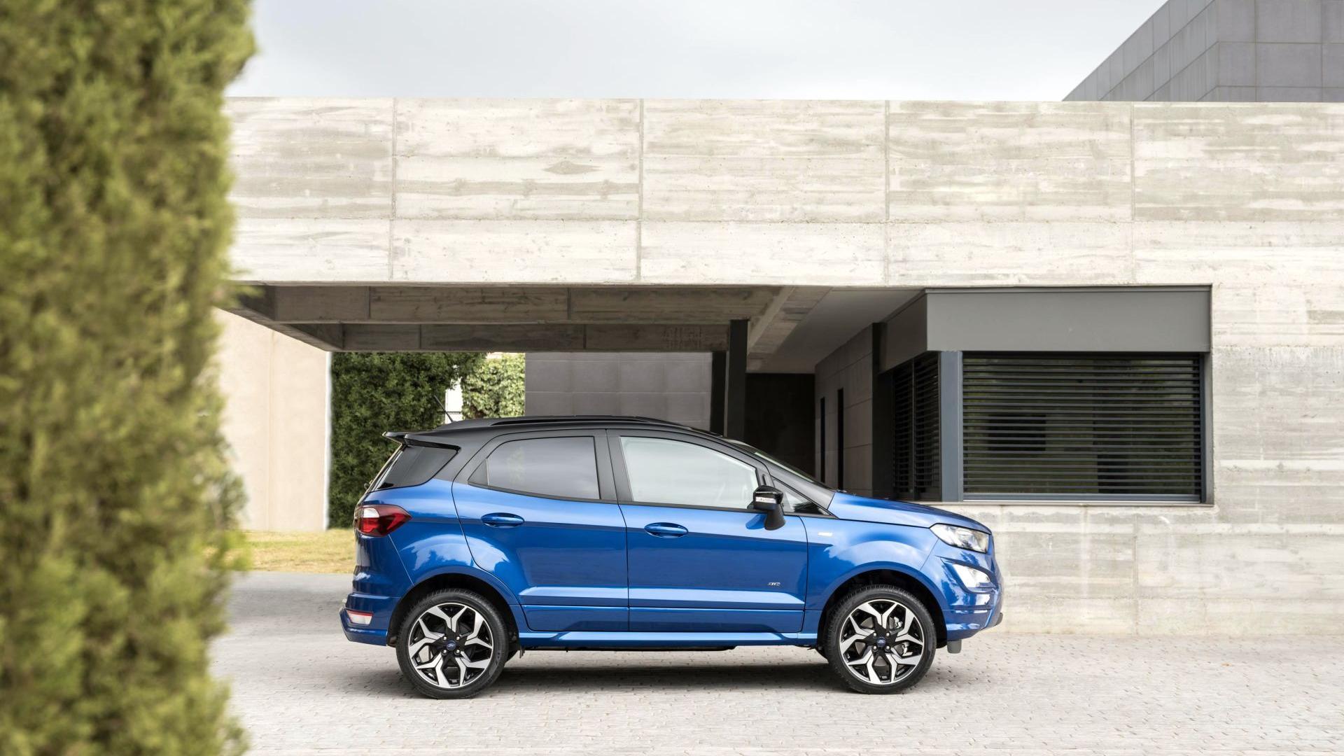 Ford Ecosport St Line 2018 Galerie Prasowe Galeria