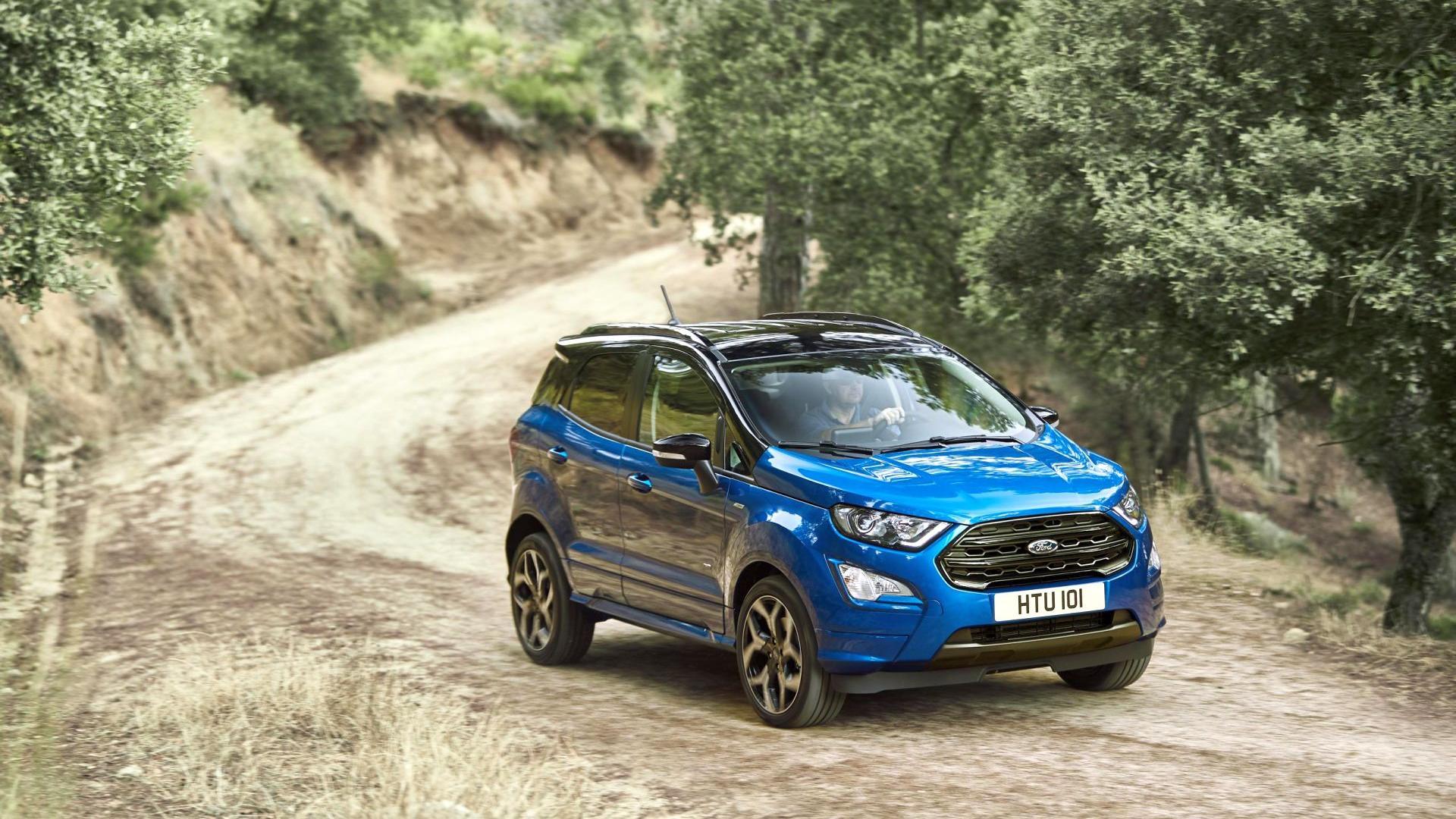 Ford EcoSport ST-Line (2018) - Galerie prasowe - Galeria • AutoCentrum.pl