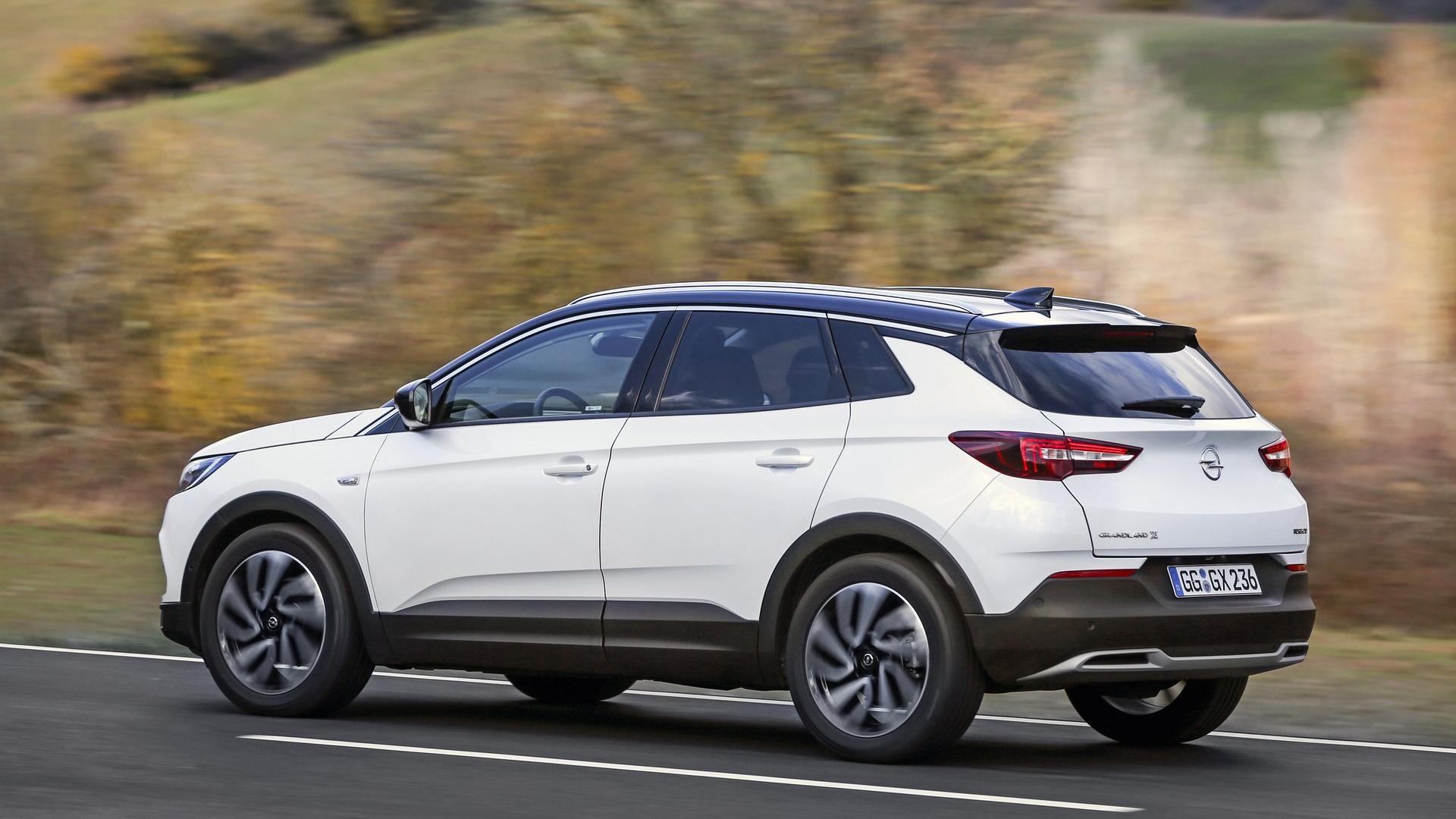 Opel Zafira 2018 >> Opel Grandland X Ultimate (2018) - Galerie prasowe - Galeria • AutoCentrum.pl