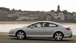 Peugeot 407 Coupe - lewy bok