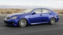 Lexus IS F - lewy bok