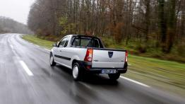 Dacia Logan Pick Up - widok z tyłu