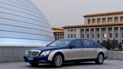 Maybach 62 Facelifting