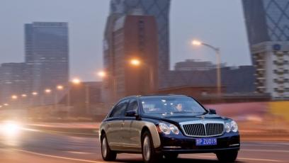 Maybach 62 Limuzyna Facelifting