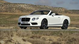 Bentley Continental GTC V8 - lewy bok