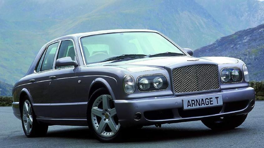 Bentley Arnage II T 6.75 i V8 Biturbo 457KM 336kW 2002-2010