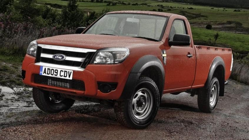 Ford Ranger IV Single Cab Facelifting
