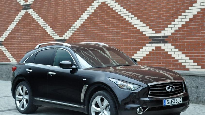 Infiniti FX II Crossover Facelifting 3.7 V6 320KM 235kW 2012-2013