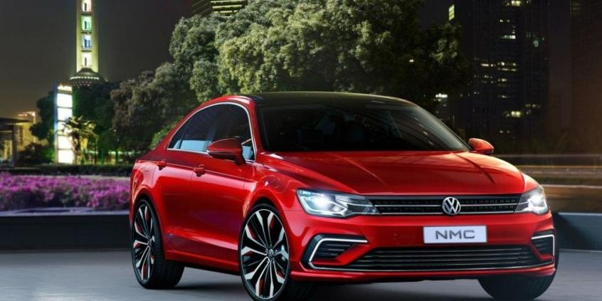 Volkswagen New Midsize Coupe Concept (2014)